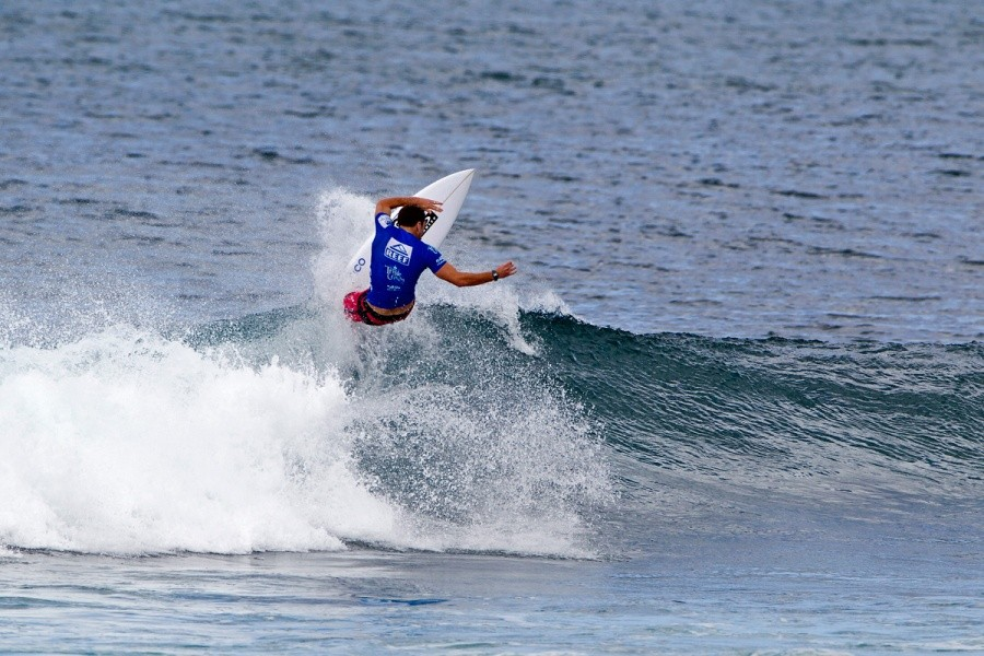 Nate Yeomans (USA) is looking in top form while advancing through every round.   © ASP / Rowland
