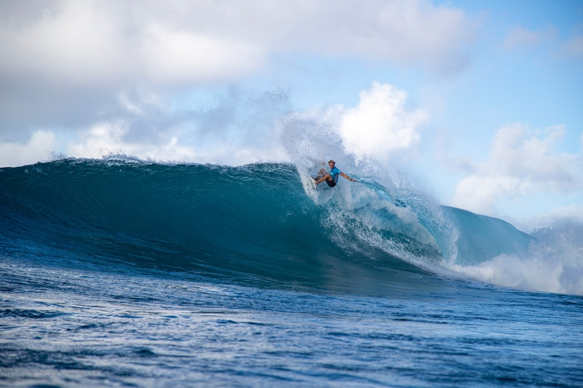 Vans World Cup 4th place, Cody Young.   © WSL / Heff