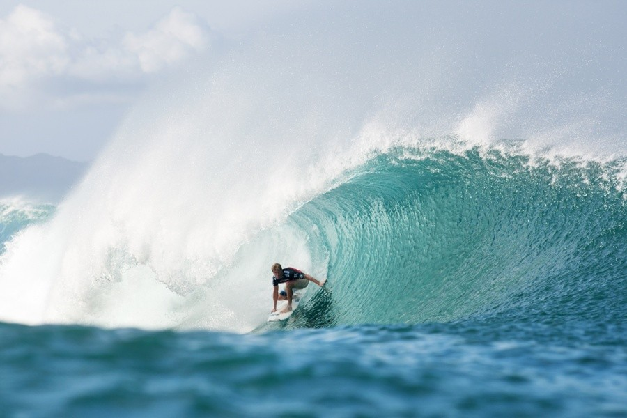 Sebastien Zietz (HAW) finishes the year in 16th position on the ASP World Tour rankings.   © ASP / Cestari